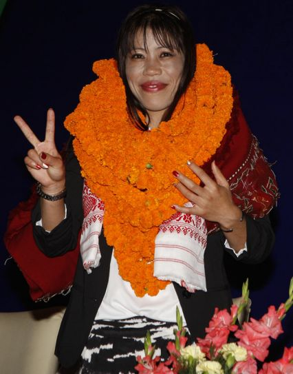 Olympic Bronze medal winner Mary Kom