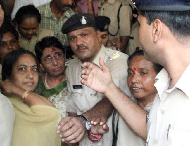 Ex-Gujarat minister Maya Kodnani