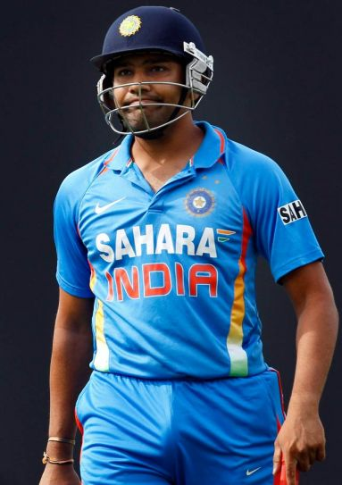 India's batsman Rohit Sharma