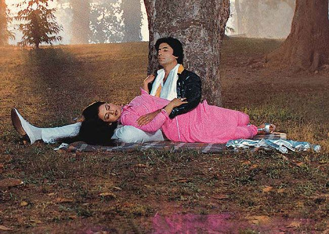 Amitabh Bachchan and Rekha