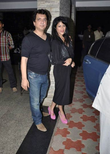 Sajid Nadiadwala and Wardha Khan
