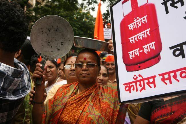 Protests against diesel price hike