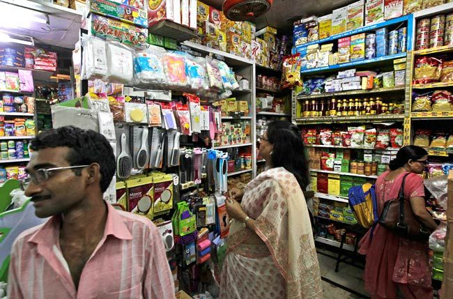 A retail store in New Delhi