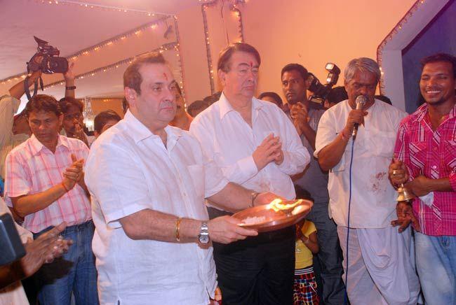 Randhir Kapoor and Rajiv Kapoor