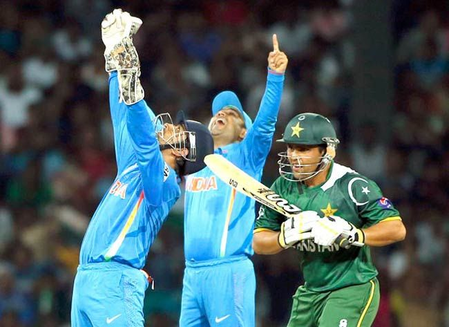 India vs Pakistan World T20 match