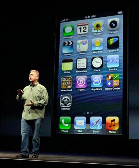 Phil Schiller at an Apple event.