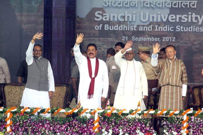 Mahinda Rajapaksa, Shivraj Singh Chauhan, Jigmi Thinley