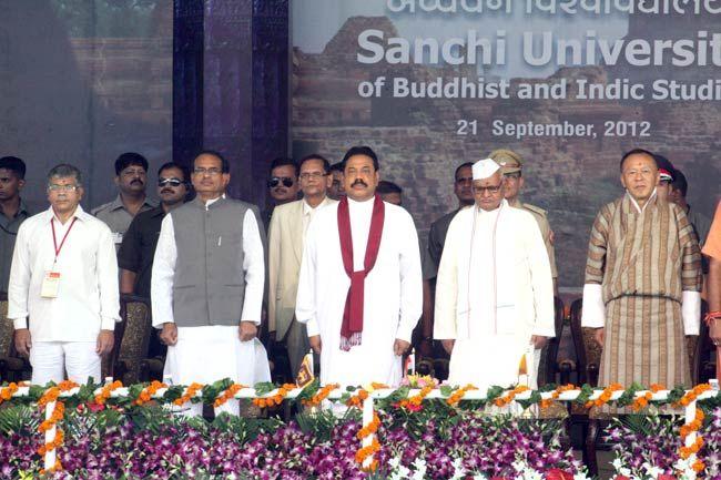 Mahinda Rajapaksa, Shivraj Singh Chauhan