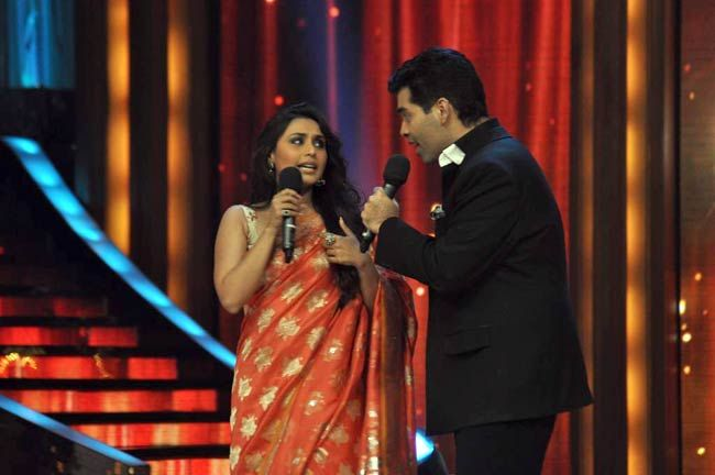 Rani Mukerji and Karan Johar