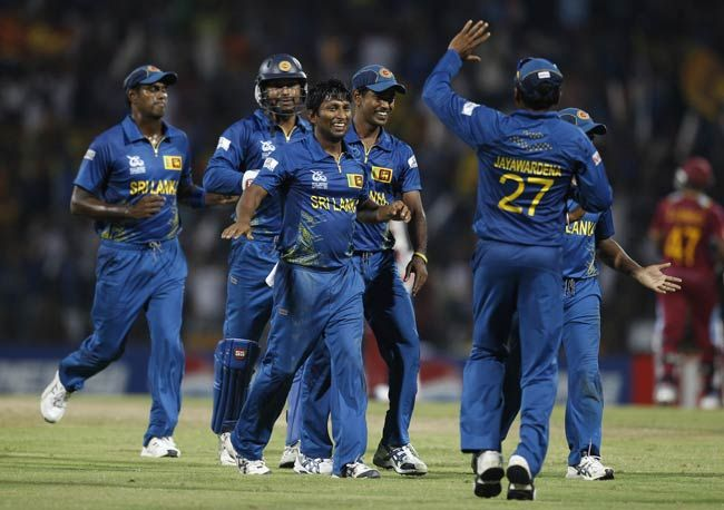 Sri Lankan cricketers
