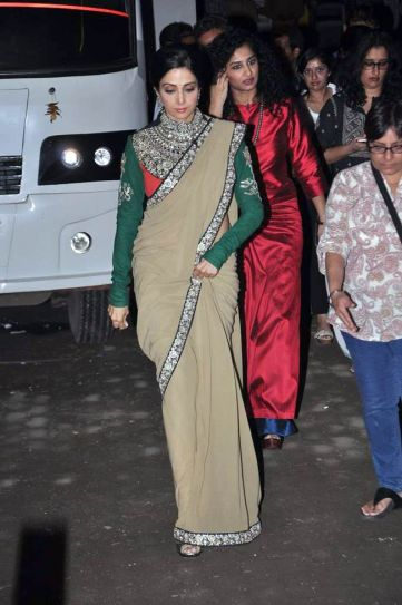 Sridevi and Gauri Shinde