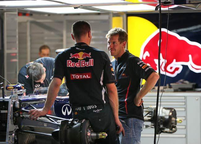 Sebastian Vettel, Team mechanic