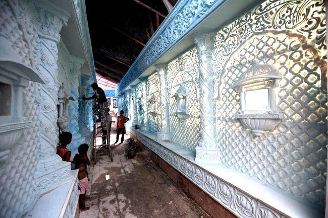 High art Durga Puja style