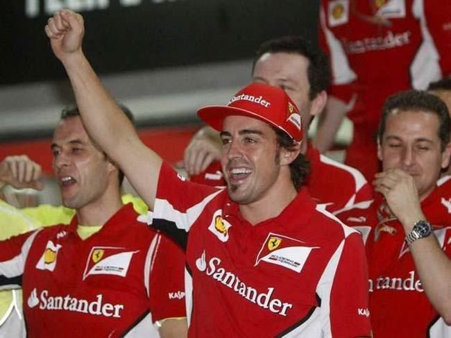 Contenders to the 2012 Formula One title
