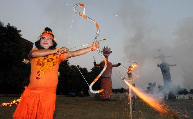 Dussehra, Ramlila celebrations in Chandigarh, Lord Ram, Ravana