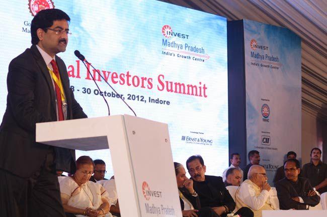 Kumar Mangalam Birla, Global Investors' Summit