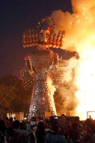 India celebrates Dussehra