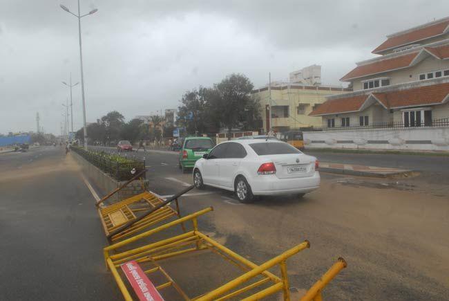Cyclone Nilam, Chennai