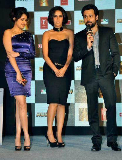 Emraan Hashmi, Sagarika Ghatge and Neha Dhupia