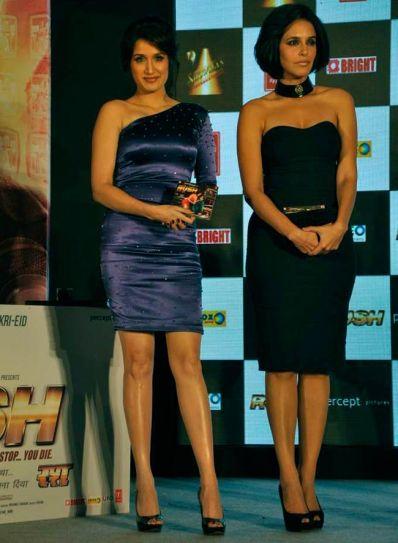 Sagarika Ghatge and Neha Dhupia