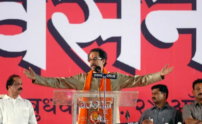 Uddhav Thackeray, Shiv Sena