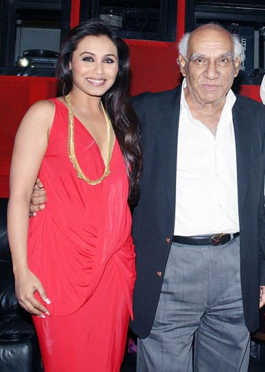 Rani Mukerji with Yash Chopra