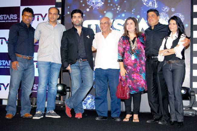 (Left to right) Ashutosh Gowariker, Karan Johar, Yash Chopra and Farah Khan