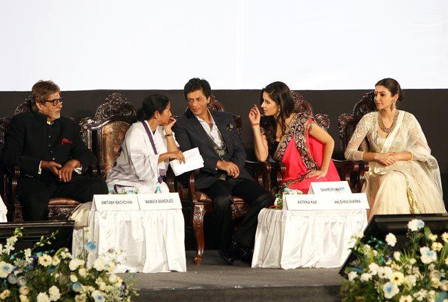Amitabh Bachchan, Mamata Banerjee, Shah Rukh Khan, Katrina Kaif, Anushka Sharma, Kolkata International Film Festival