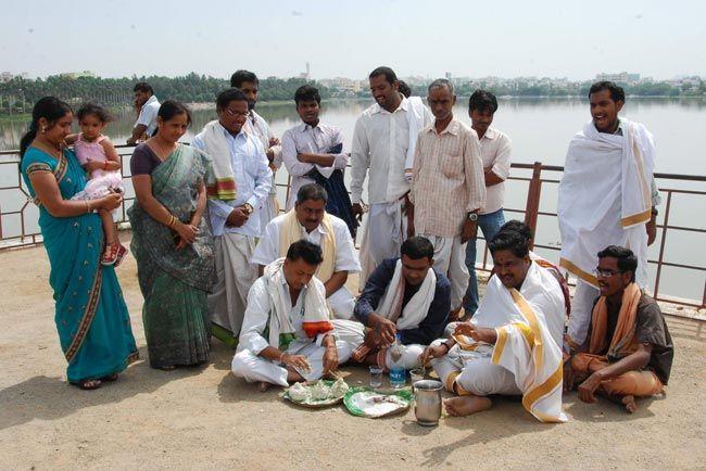 Andhra Pradesh Brahmins protest