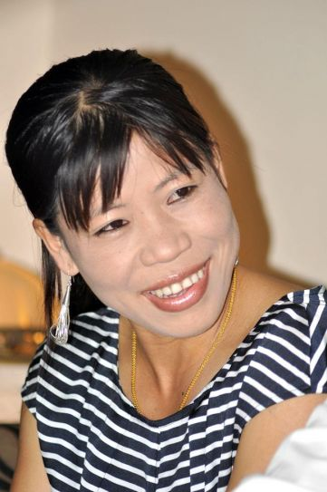 Assam Boxing Federation felicitates Mary Kom