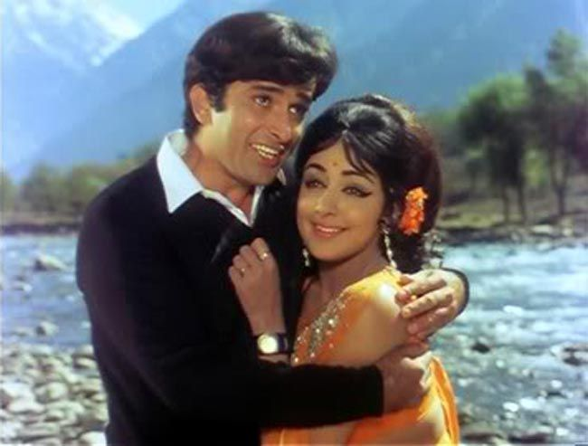 Shashi Kapoor and Hema Malini
