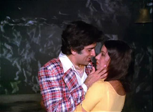 Shashi Kapoor and Shabana Azmi