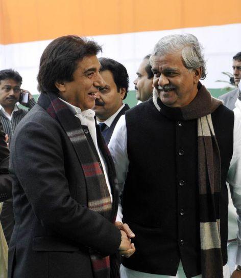 Raj Babbar and Sriprakash Jaiswal