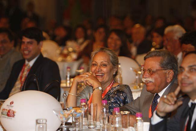 Guests at the Agenda Aaj Tak