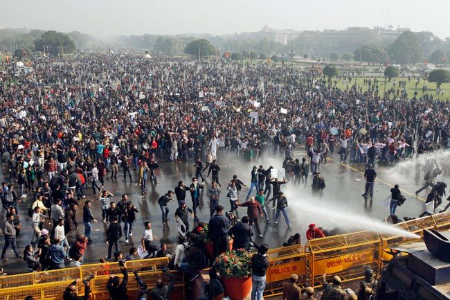 Protests over Delhi gangrape