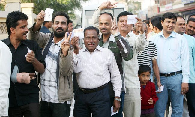 Gujarat votes in final phase of polling