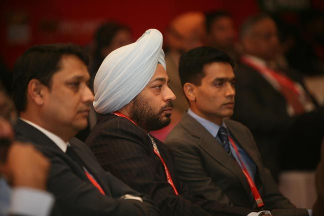 Guests at Agenda Aaj Tak 2012