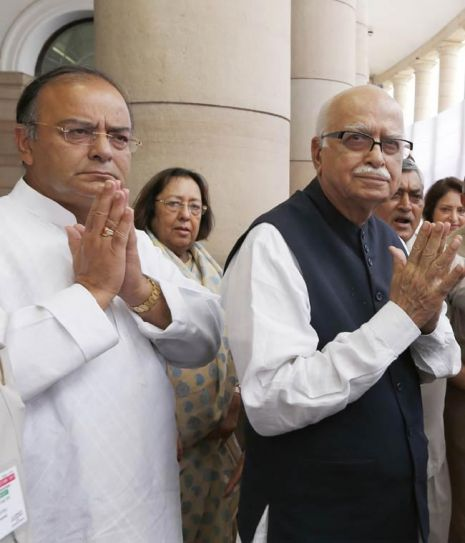 Arun Jaitley and L.K. Advani