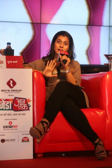Kajol at Agenda Aaj Tak 2012.