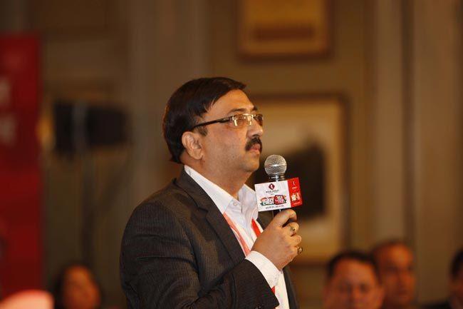 A guest at Agenda Aaj Tak