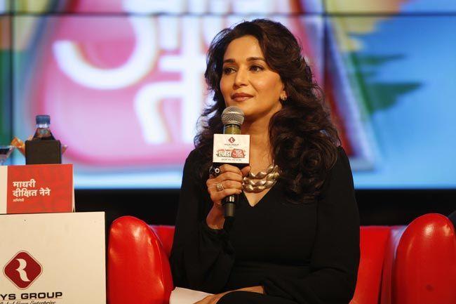Madhuri Dixit at Agenda Aaj Tak 2012