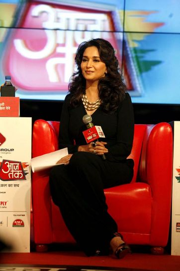 Madhuri Dixit at Agenda Aaj Tak 2012.