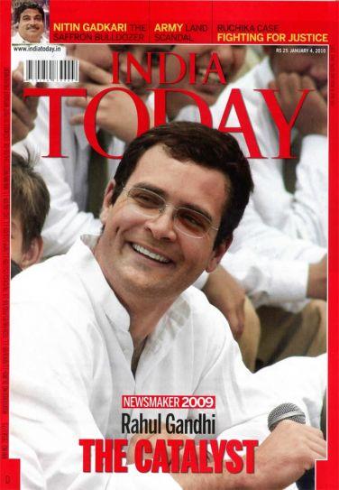 Newsmaker 2009-Rahul Gandhi-The Catalyst