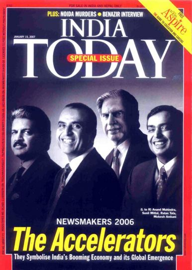 Special Issue: Newsmakers 2006 - The Accelerators