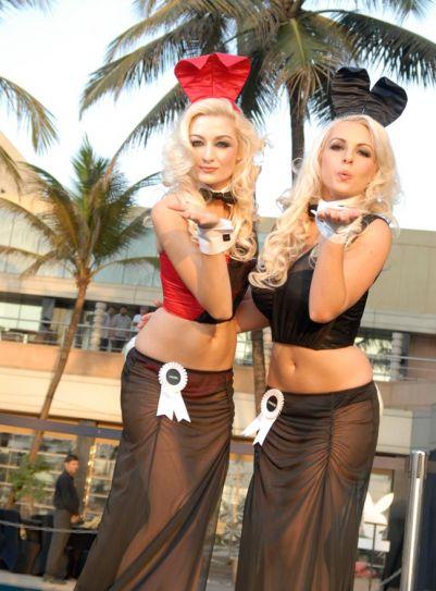 Playboy unveils Indian bunny