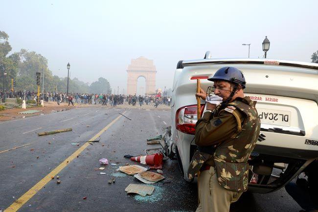 Protest over Delhi gangrape