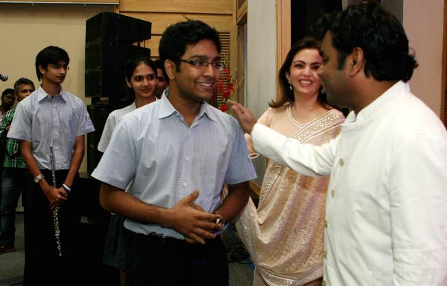 A R Rahman with Nita Ambani