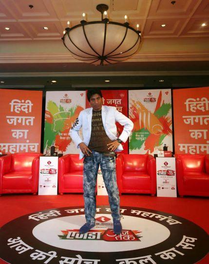 Comedian Raju Srivastava, Agenda Aaj Tak 2012