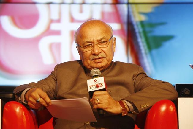Home Minister Sushikumar Shinde at Agenda Aaj Tak 2012