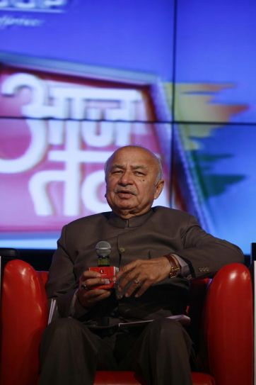 Sushilkumar Shinde at Agenda Aaj Tak 2012